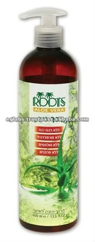 SULFATE FREE NATURAL SHAMPOOS, ALOE VERA based, with DEAD SEA MINERALS