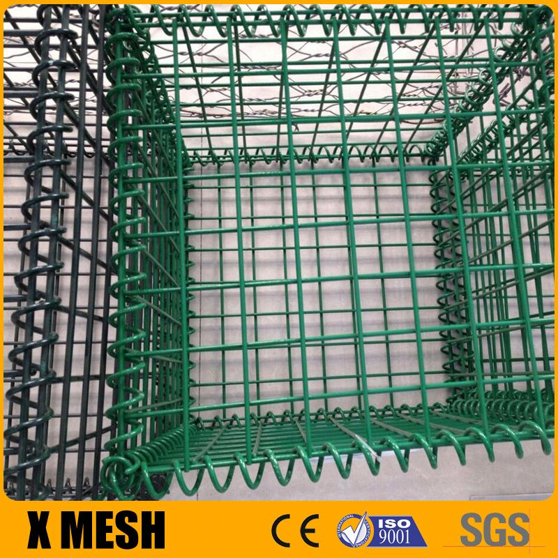 PVC Coated Hesco Bastion for security barriers