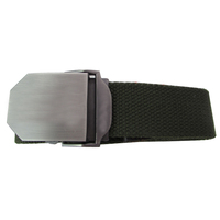 Black Utility Police Guard Security belt tactical