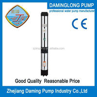 "6"" stainless steel deep well submersible pump 3inch outlet"
