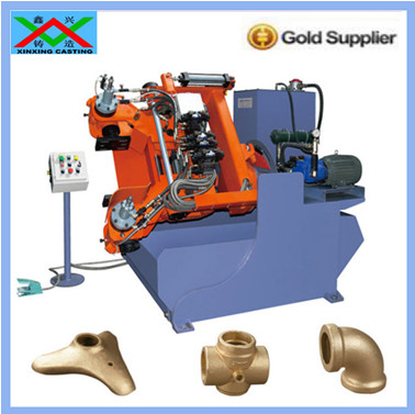 Electrical machinery brass faucet Gravity Die Casting Machine
