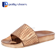2018 new design ladies pvc sandals plastic jelly shoes for women 36-41