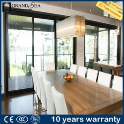 Best supplier powder coating finished lowes sliding glass patio doors designs