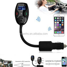 2016 Wireless Bluetooth FM Transmitter Modulator Flexible Car Kit MP3 Player