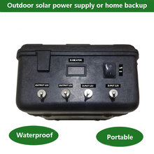 Rechargeable deep cycle lithium ion lifepo4 dc 12v 24v 48v battery 20ah 100ah 200ah 300ah for electric bike solar street lights