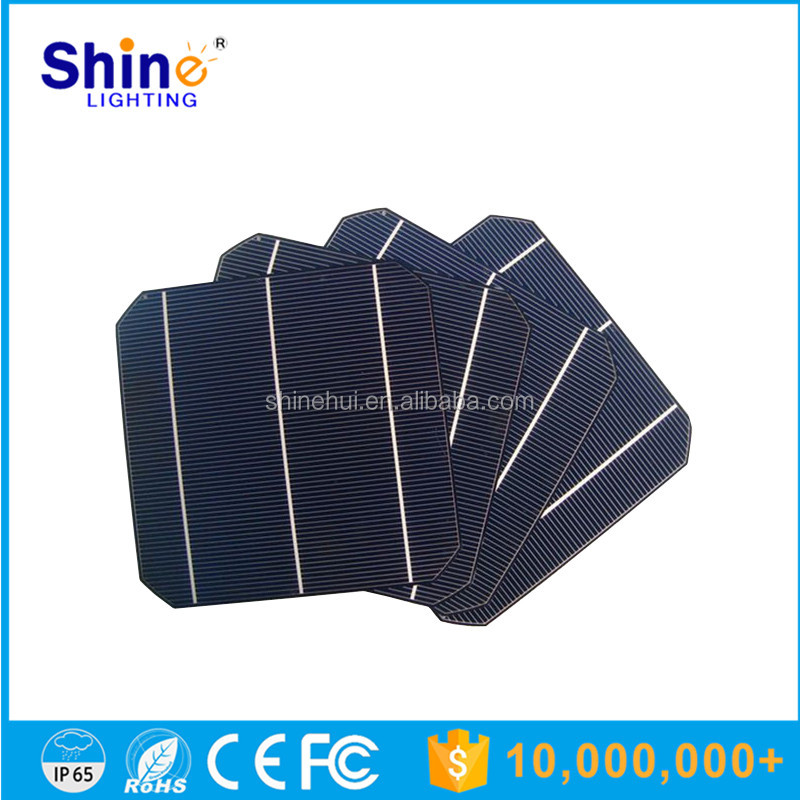 156x156 inch best monocrystalline solar cells price for solar panel/photovoltaic solar cells for sale