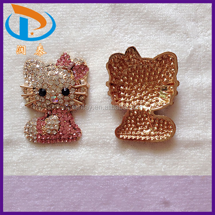 Wholesale New crystal Rhinestone KT Alloy Jewelry Accessories For Phone Case Decoration