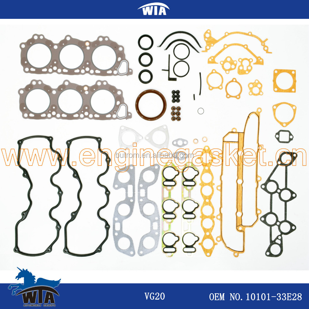 Engine gasket kit VG20 OEM 10101 - 33E28 auto parts full gasket kit