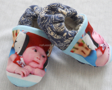 diy baby first walk shoes with your baby print. No minimums required!
