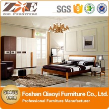 AG013 MDF Bedroom Furnitures / Modern Solid Wood Bedroom Furniture / Hot Sex Bedroom