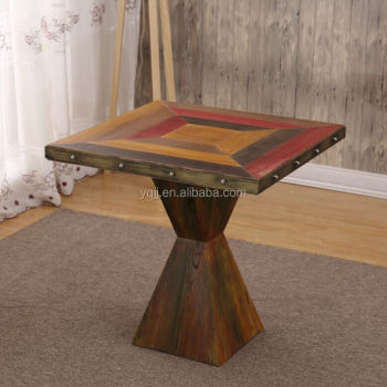 New design cafe table wooden for sale