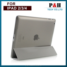 Magnetic PU Leather Smart Cover Case for ipad 2/3/4 with Sleep Wake