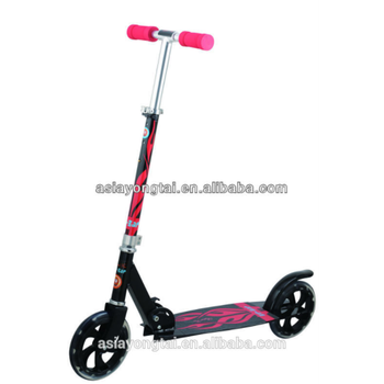 200MM 100% Al Heavy duty foldable kick scooter for Sporting