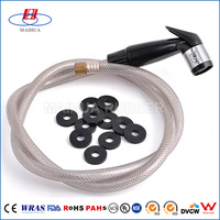 Weathering waterproof epdm silicone viton round rubber gasket for pvc pipe