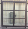 Carbon steel window and door made with LOWE glass used in home and villias and office
