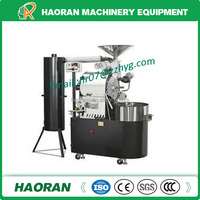 Best Quality Stainless Steel Coffe Bean Drum Roaster Machine