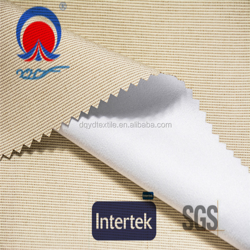 high quality NFPA701 fire retardant three pass blackout curtain fabric
