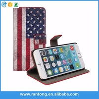 nostalgic national flag printed case flip cover for sony xperia m for apple iphone