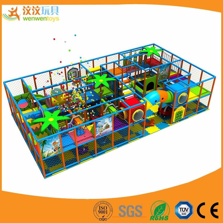China high quality indoor slide soft play areas naughty palace