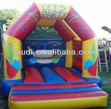 12 x 14 Lets Party Inflatable Bouncy Deluxe Castle
