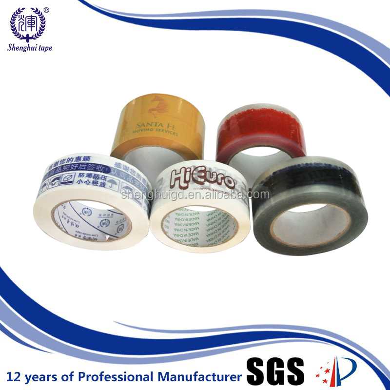 strong recommend/customized OEM COLOFUL PRINTING TAPE with trade mark or company logo/info /address