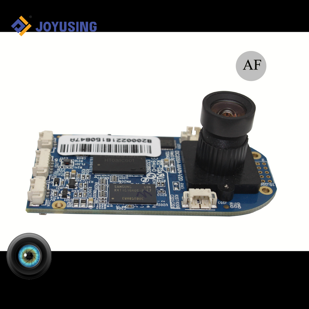 Small 60/40 degree omnivision camera module high definition lens
