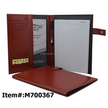 Desktop Leather Document A4 File Holder