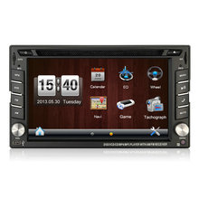 6.2inch Touch Screen Steering Wheel Universal Car DVD Player with GPS