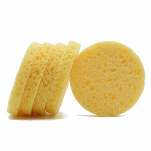 Reusable Makeup Remover Compressed Cellulose Facial Sponges