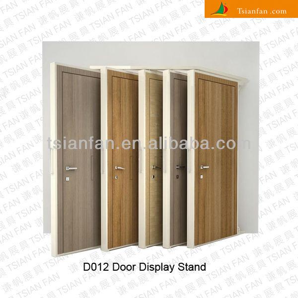 Delightful Metal Doors Display Rack Stand  D018