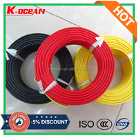 BV 450/750V Class 2 Copper Conductor Single Core PVC Electric Wire and Cable Size