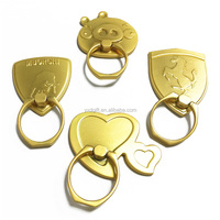 Best selling Wholesale cheap Mobile phone ring holder, promotional Gift metal ring stand for smart phone