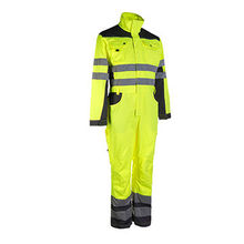 Men''s work safety clothing twill fabric polyester cotton coveralls