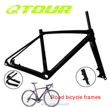Quick Realease/ Thru Axle T800 Full Carbon Fiber Road Racing Bike Frames set Cycling Bicycle Frameset 700C
