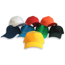 cotton twill baseball cap with pre-curved visor