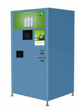 Custom made multifunctional automatic reverse vending machine recycle PET plastic/Glass/Cans