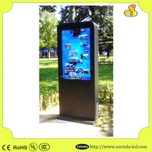 46inch outdoor android adverstising lcd touchscreen ip65 monitor electronic information kiosk