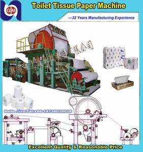 Small toilet paper manufacturing machine,facial tissue making/packing machine, roll cutting machine