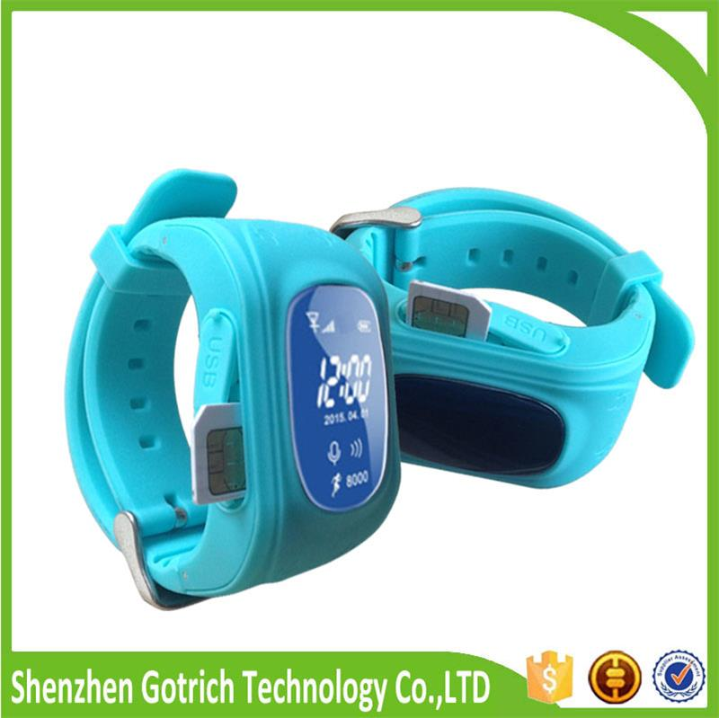 new kids gps smart watch wifi location anti-lost small gps tracking device gps senior cell phone