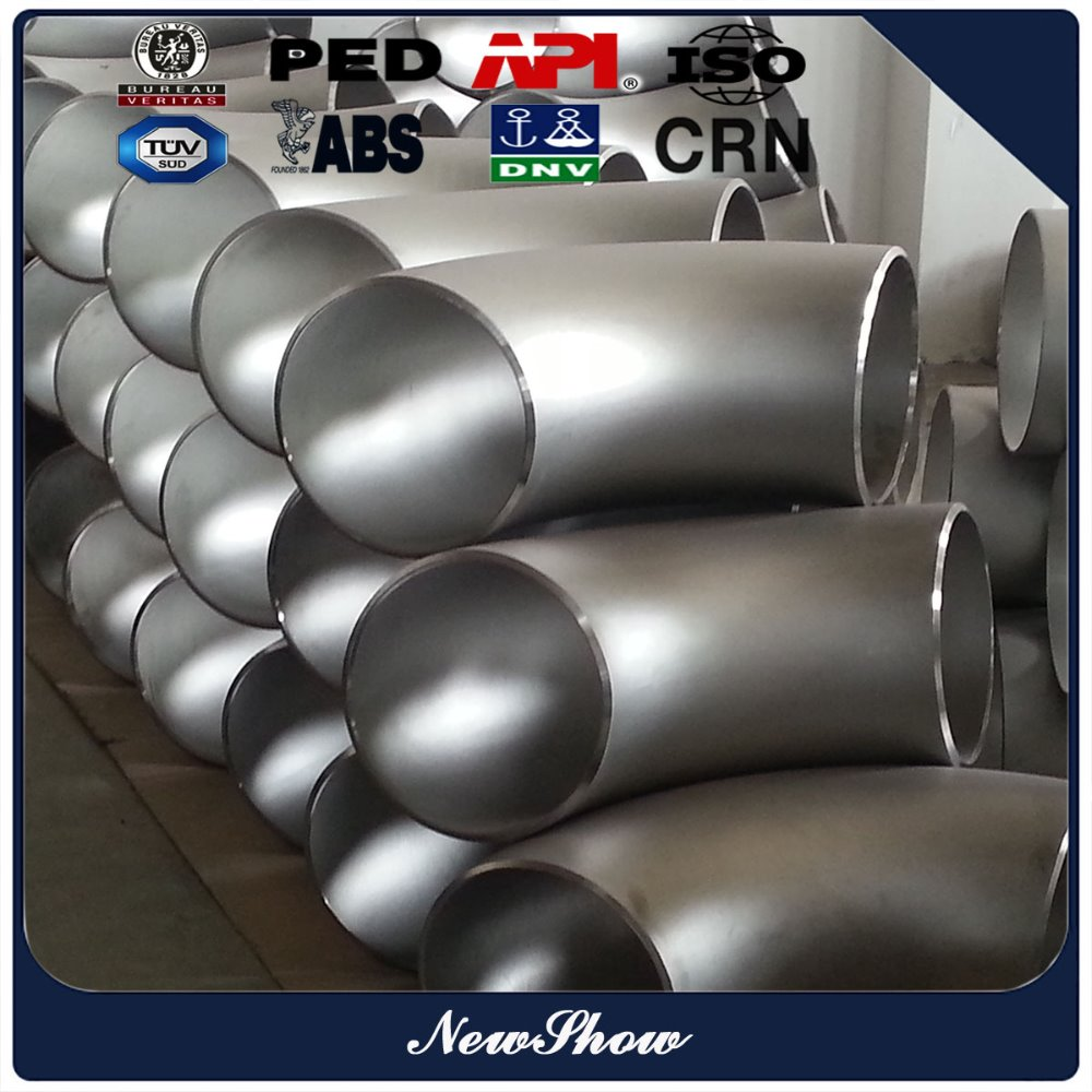 lr bw schedule 40 stainless steel 316 welded 10 inch 90 degree pipe fittings elbow