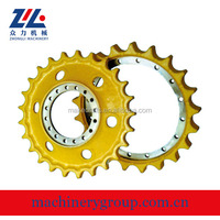Sell PC/DH/SK/EX series excavator Sprocket chain sprocket for excavator undercarriage