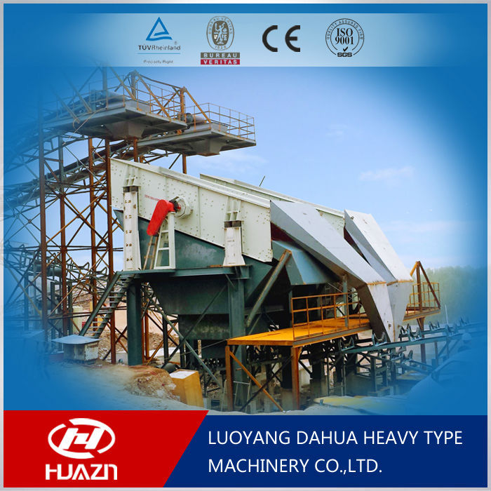 Circular Vibrating Screen high frequency sand gravel vibrating screen