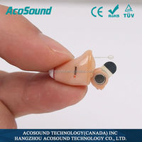 Best Quality China Supplies AcoSound AcoMate 821 CIC CE Approved internal hearing aid