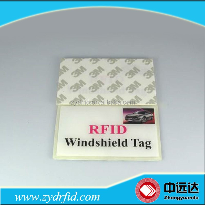 Windshield tag Windscreen RFID Label Car Vinyl Sticker