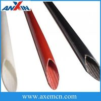 Braided Self-extinguished Silicone Coated Fiberglass Sleeving