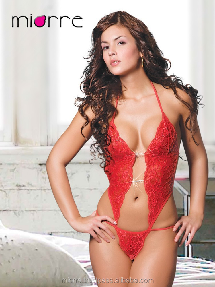 Miorre Red Love sexy lingerie