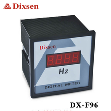 50HZ display in China digital lcd frequency meter panel meter