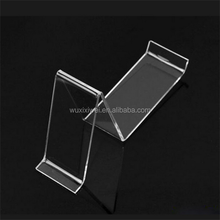 Customized Cheap Wholesale Clear Acrylic Shoe Box Display Stand