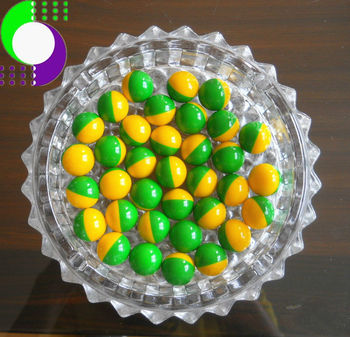 "green-yellow,0.68"",2000 pcs,quality paintballs for training from china"