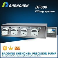 Variable speed electric oil pump filling,direct current motor liquid pump filling,adjustable speed filling machine for oil